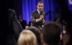 President Obama visits Mountain View for Town Hall meeting
