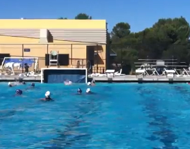 Video: Girls' Varsity Water Polo vs Half Moon Bay