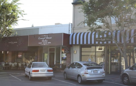 Hustle and bustle on Laurel Street
