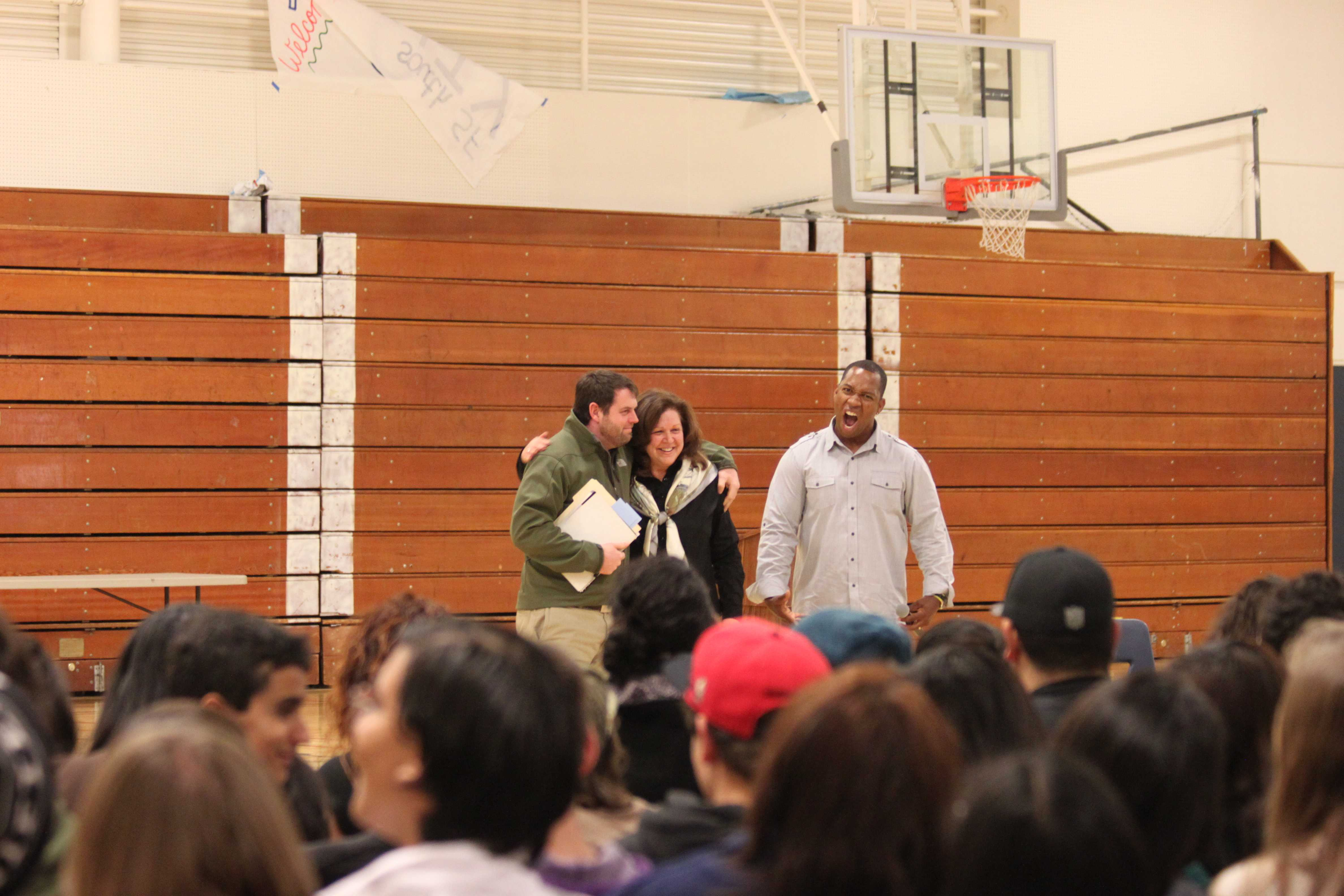 Keith Hawkins sparks inspiration in Carlmont students