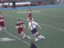 Carlmont soccer destroys M-A