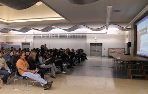 Sophomore students attend driver information night at Carlmont