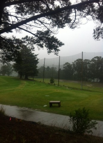 Rain washes away league golf tournaments
