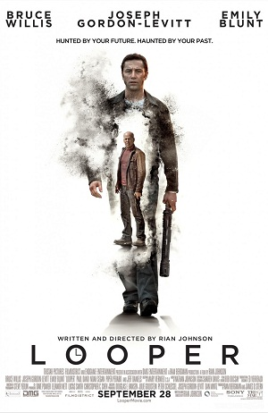 'Looper' stuns audiences to silence