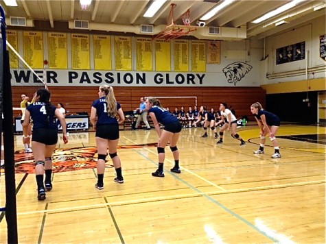 Varsity volleyball confident in second round of league play