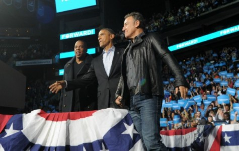 Jay Z, Springsteen perform in support of Obama