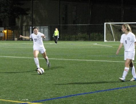 Girls varsity kicking the season off right