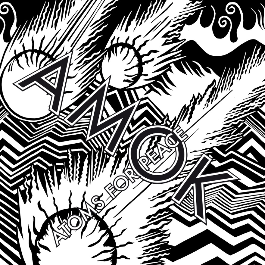 Amok+is+the+debut+LP+from+Atoms+For+Peace