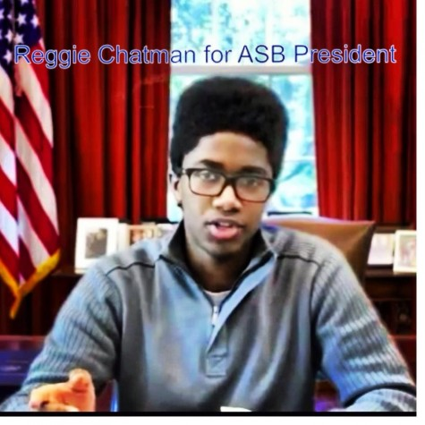 Reggie Chatman elected as next year's ASB president