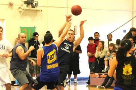 Senior vs. Staff Basketball Game