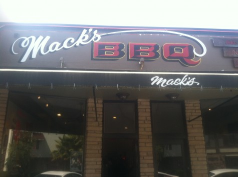 Mack's Barbeque: carnivore's delight