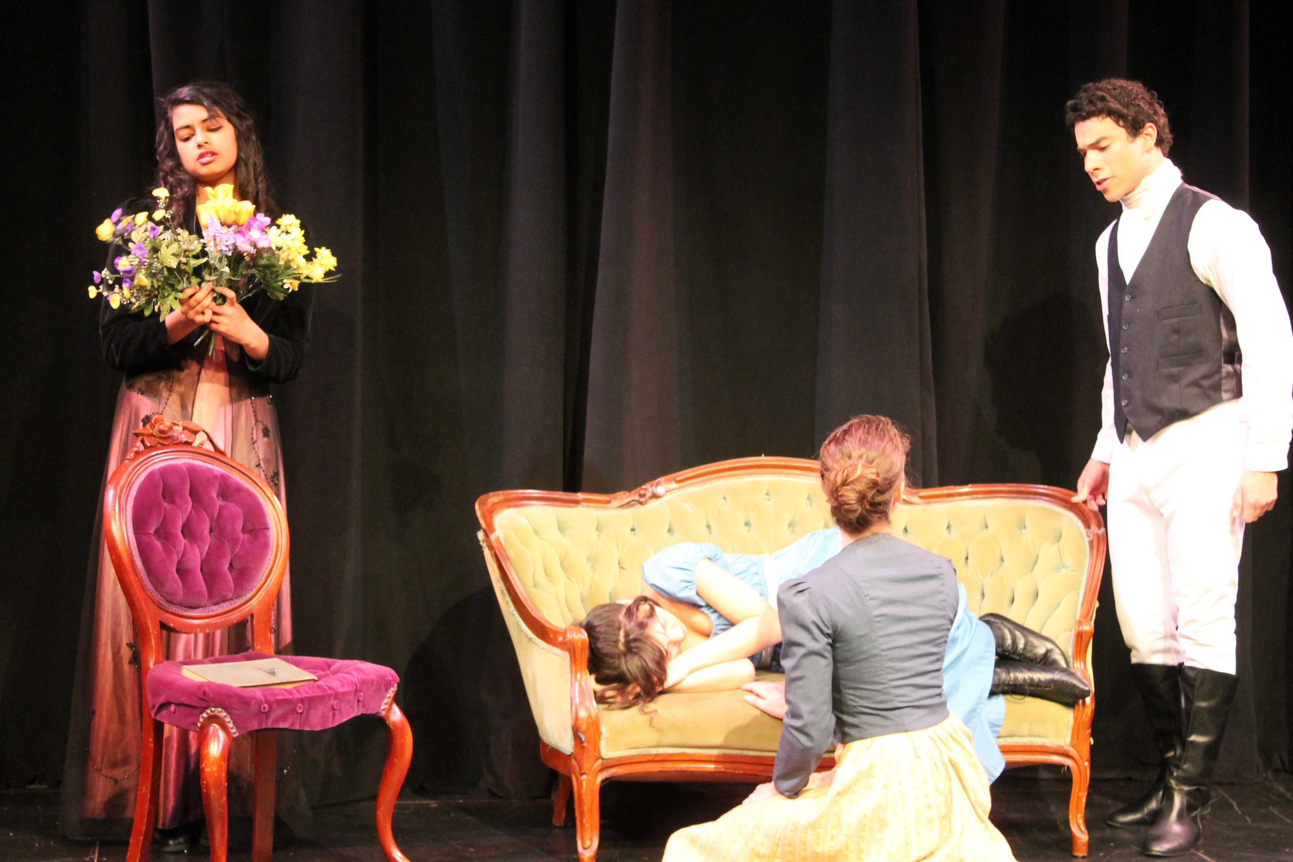 Carlmont students perform in last year's spring play
