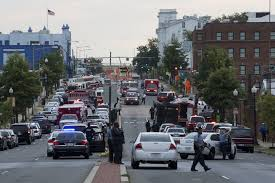 At least 12 killed after gunfire in Washington Navy Yard