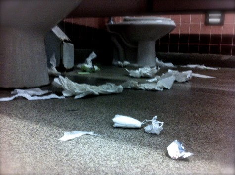 How to Survive High School Day Nine: Avoid the most repulsive bathroom on campus