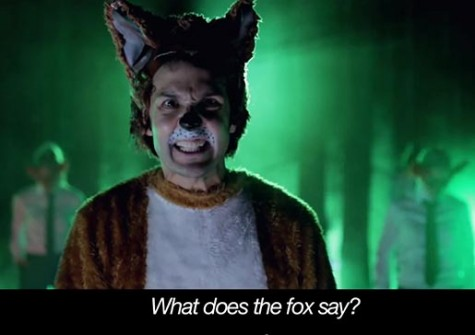 Everyone wants to know: What does the fox say?