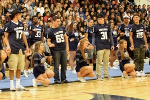 Long preparation for homecoming assembly pays off