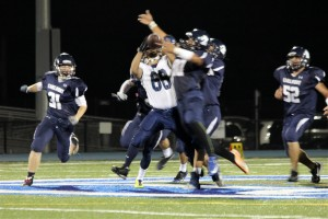 Varsity Football captures homecoming victory against Jefferson