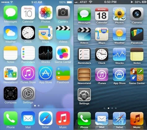 Apple updated its iOS