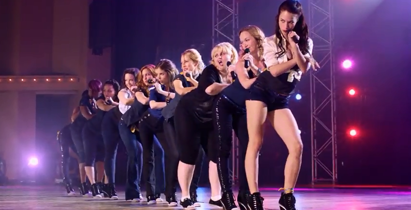 A scene from the Bella's final performance in
