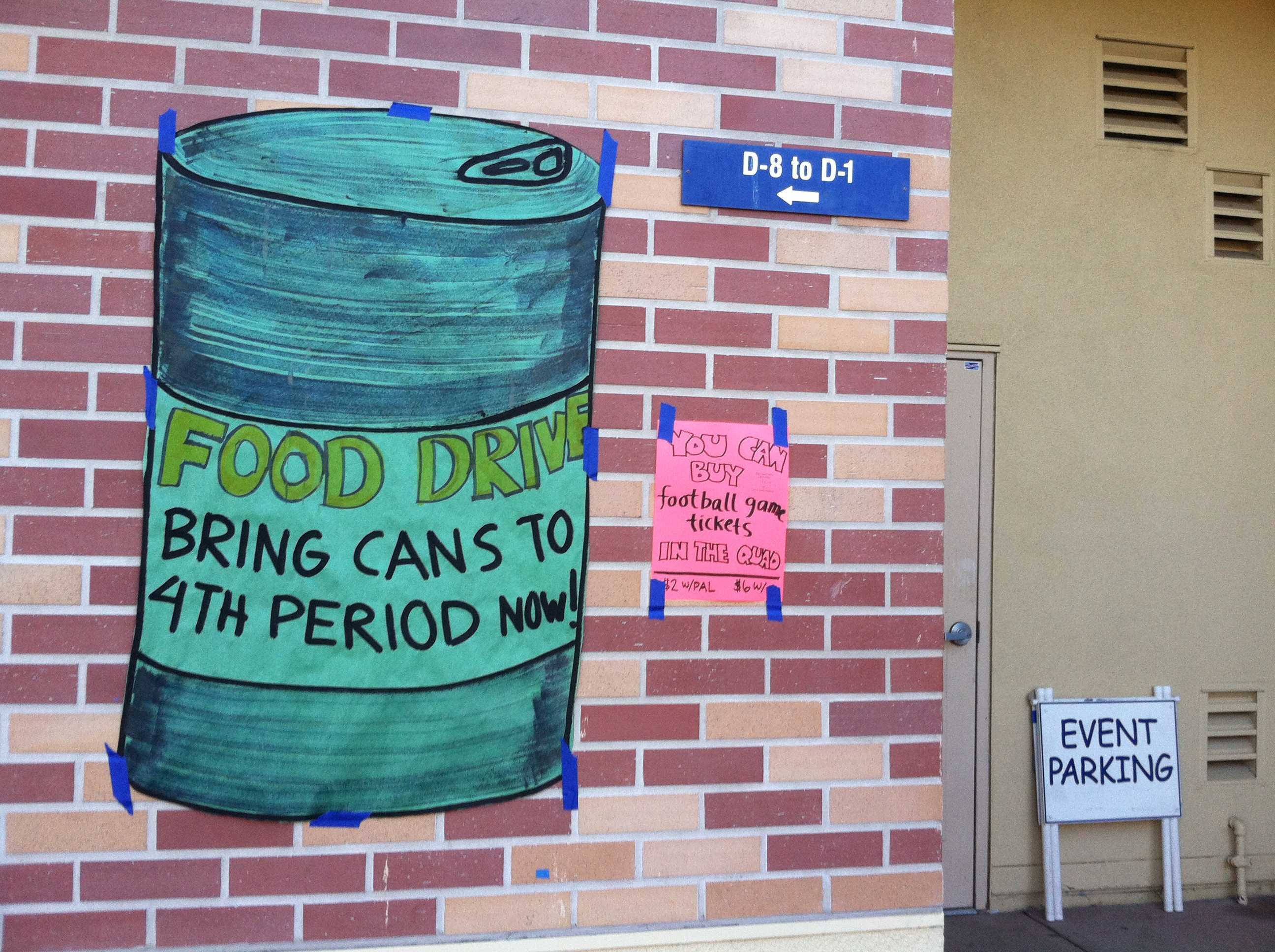 The food drive is here again, and students are eager to donate.