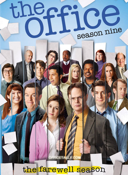 The season nine promotional poster for The Office