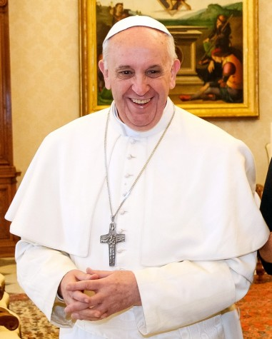 Pope Francis to be nominated for the Nobel Peace Prize