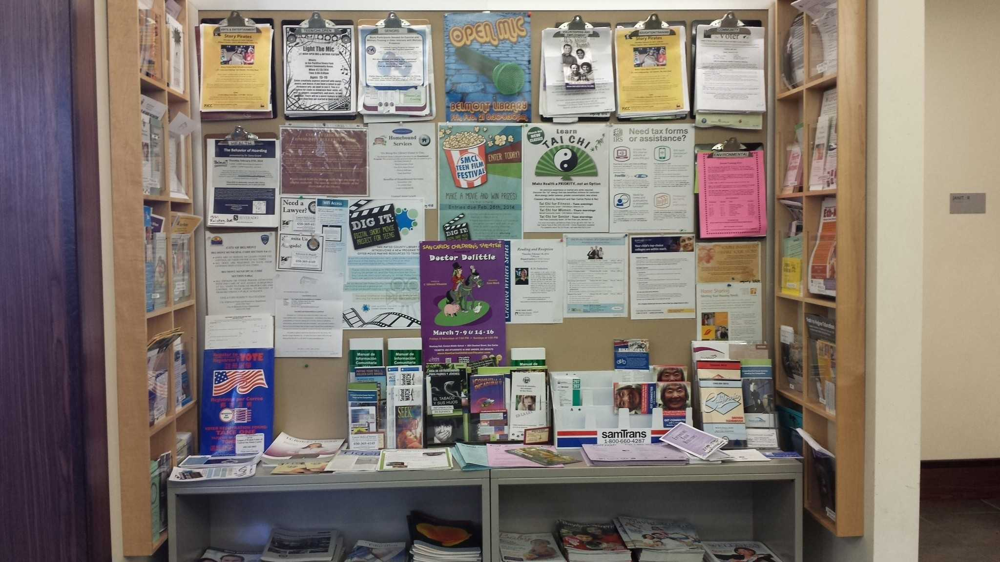 The Belmont Library is full of opportunities to get involved and better the community.