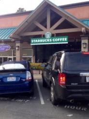 Having a job at a favorite place: Starbucks
