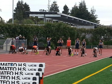 Expected track team victory