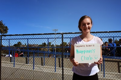 Happiness Club spreads smiles around school