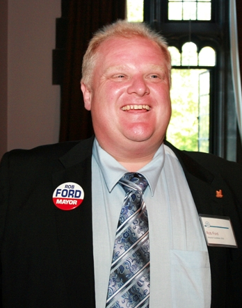 Rob Ford at the