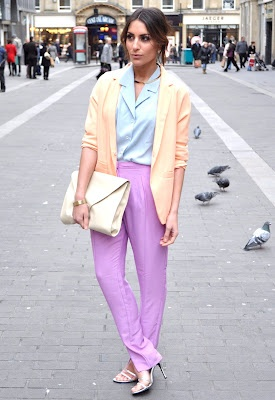 Spring 2014 brings back pastels