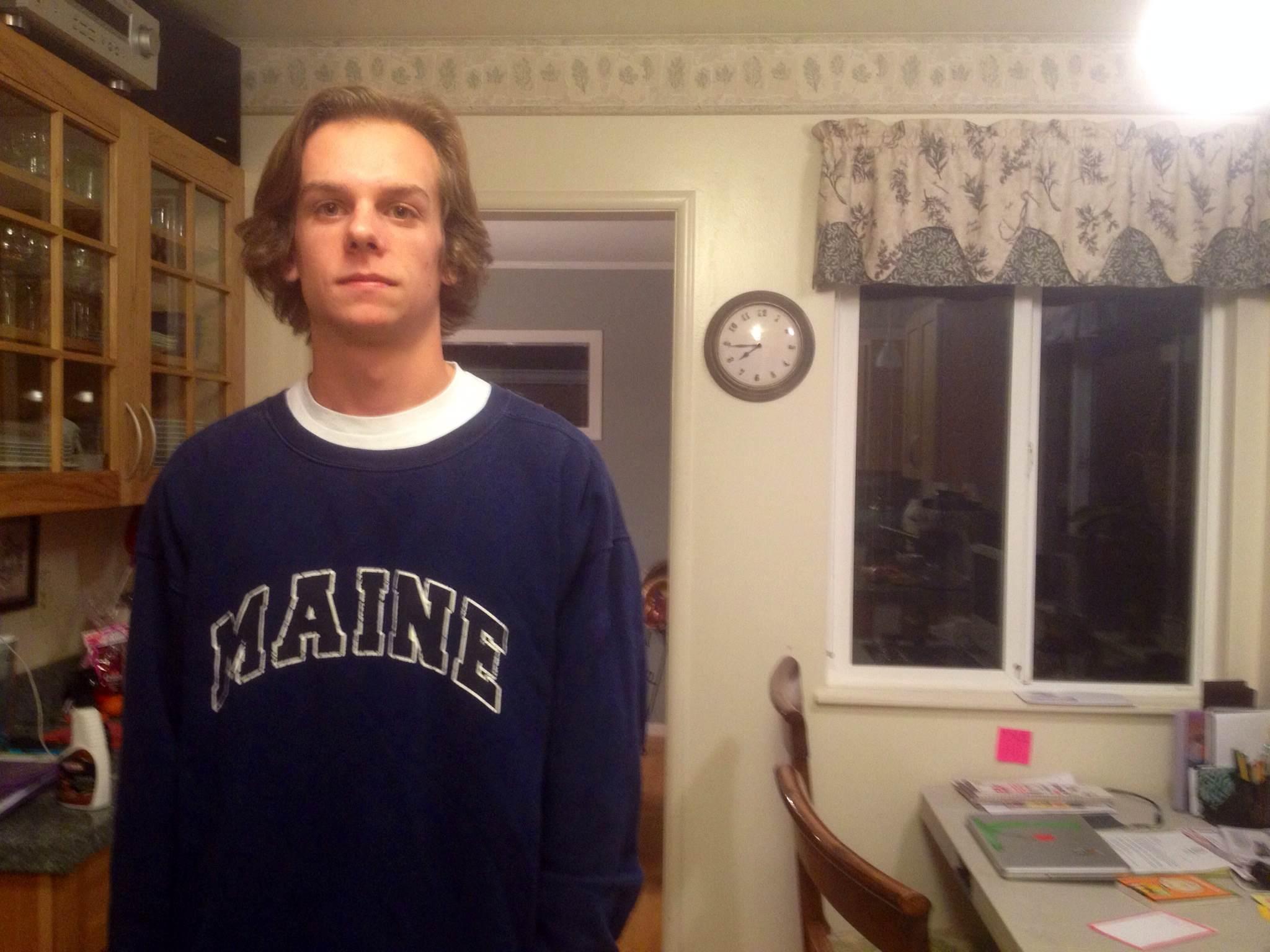 Senior Nathan Fischer
