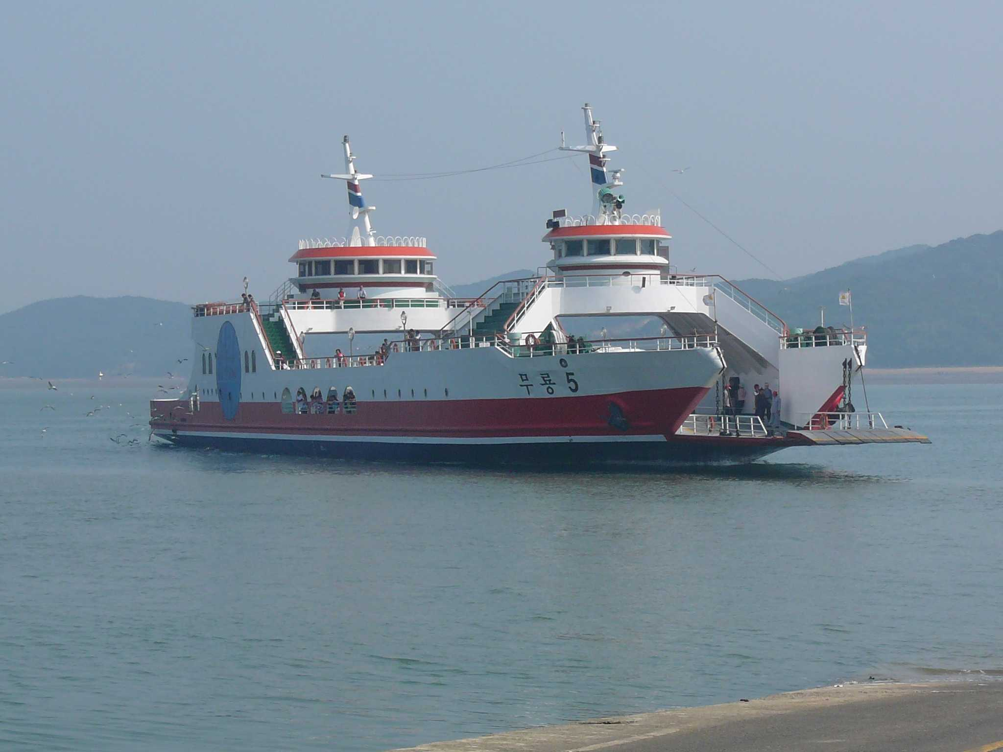 The Sewol South Korean Ferry sank on April 16. Image courtesy of Creative Commons Search.