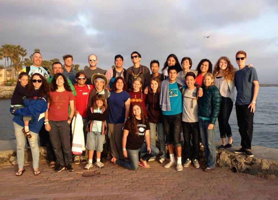 The Peninsula Covenant Church group pose for a picture during their service trip in Mexico