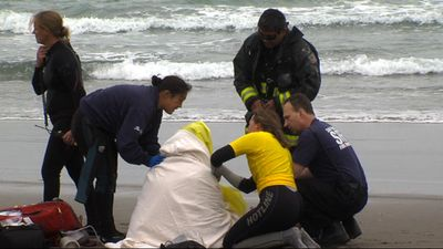 One still missing in waters near Ocean Beach
