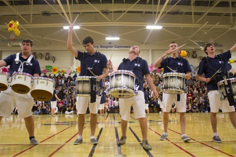 Carlmont rounds off year with assembly