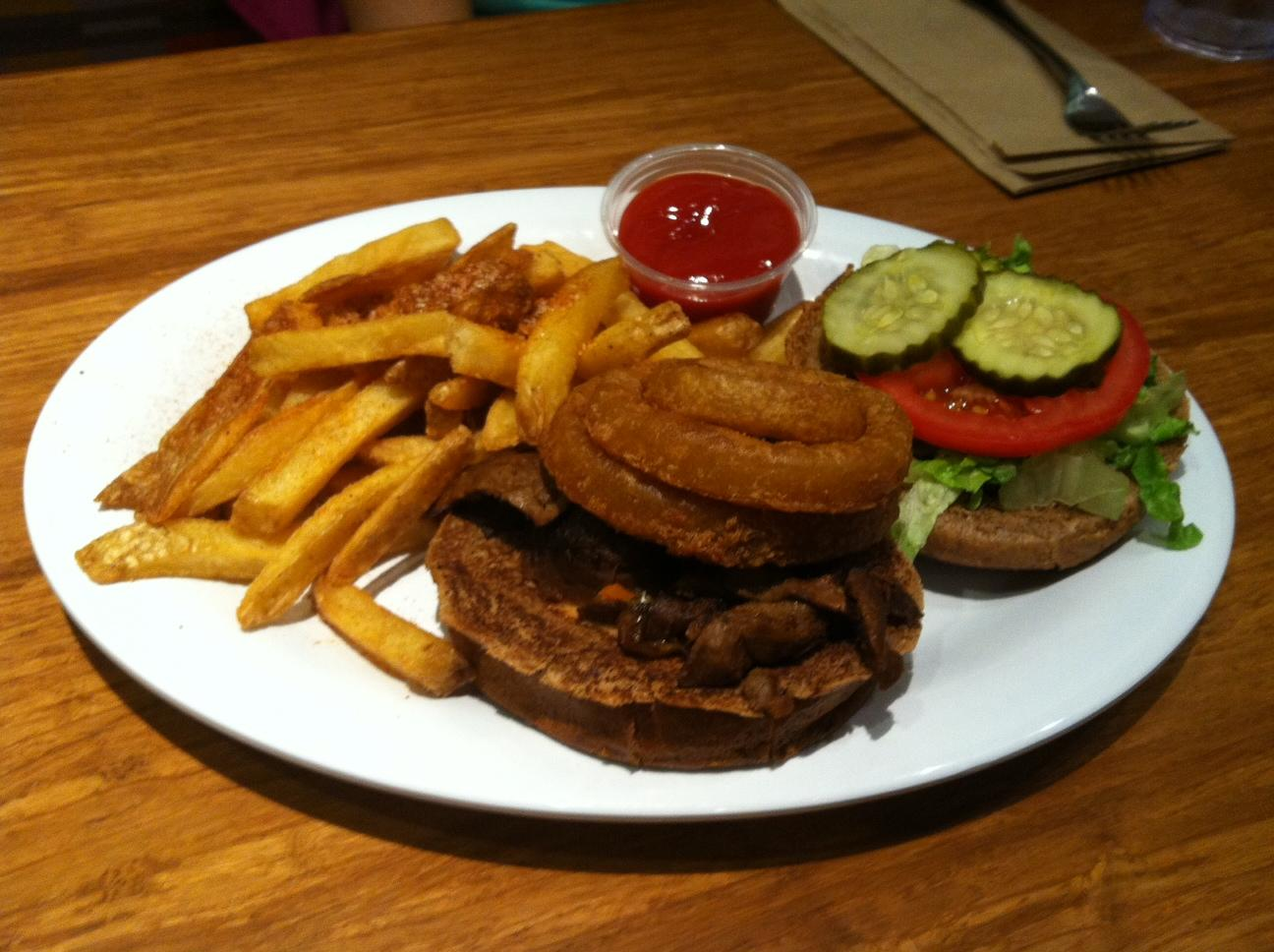 All-American Stack burger