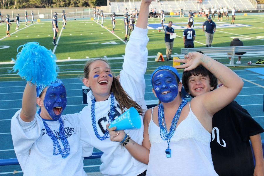 Scots+fans+are+pumped+before+the+game.