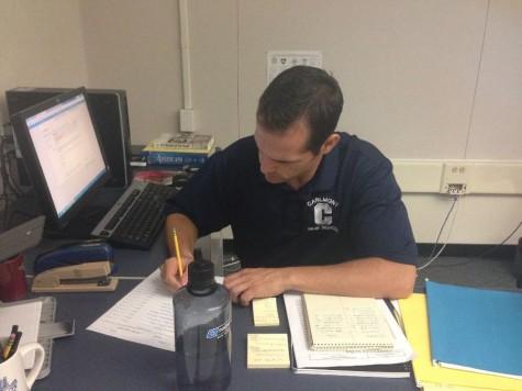 New teacher on campus — Marcello DiCiccio