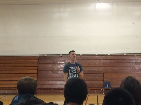 Youth speaker sees big change in small acts of kindness