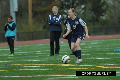 "Carlmont soccer practices have a very comfortable, and hard working atmosphere. During practice we work on everything from conditions to formation, offense, and defense. The team has a pretty good connection which allows us to play as best we can,"" Payton Smith."