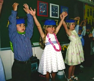 Belmont Oaks 2003 Kindergarten Graduation.