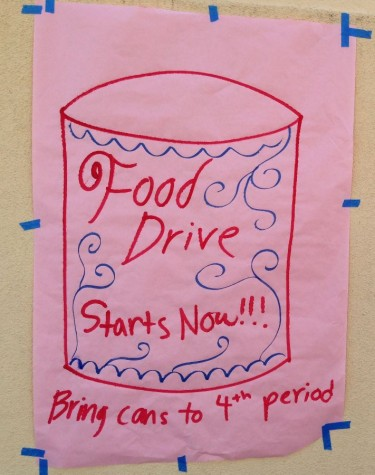Food drive kicks off
