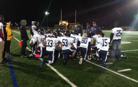 Varsity football takes down Mills