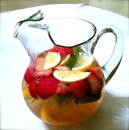 Cold Fighting Fruit Tea