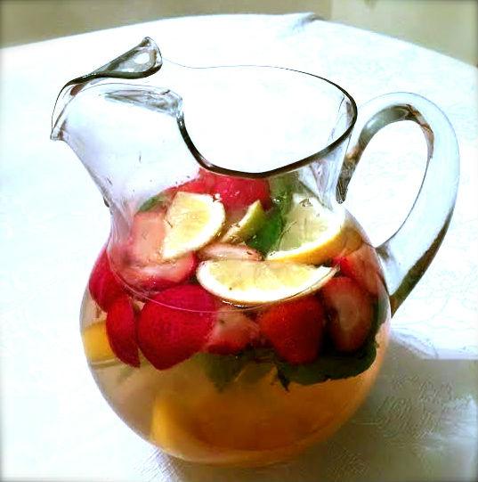 Cold Fighting Fruit Tea