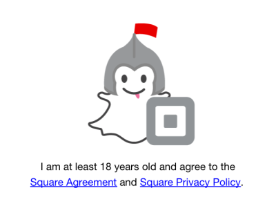 Before+signing+up+for+Snapcash%2C+Snapchat+asks+for+an+age+confirmation+of+18+years+and+for+the+user+to+read+the+Square+Agreement%2FPrivacy+Policy.