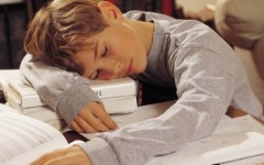 Students struggle with excessive amounts of homework