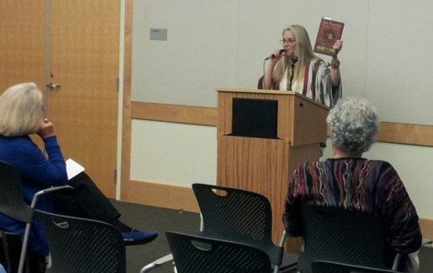 Author Strickland visits Belmont Library to inspire readers